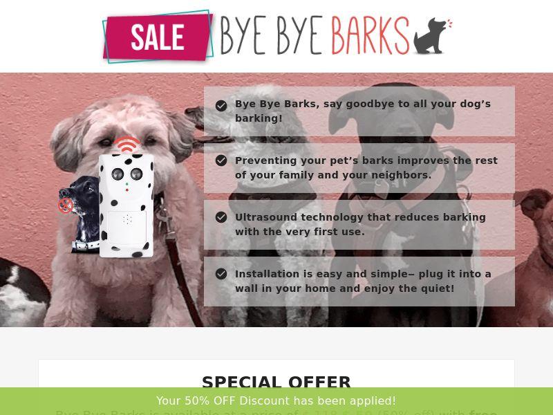 Bye Bye Barks