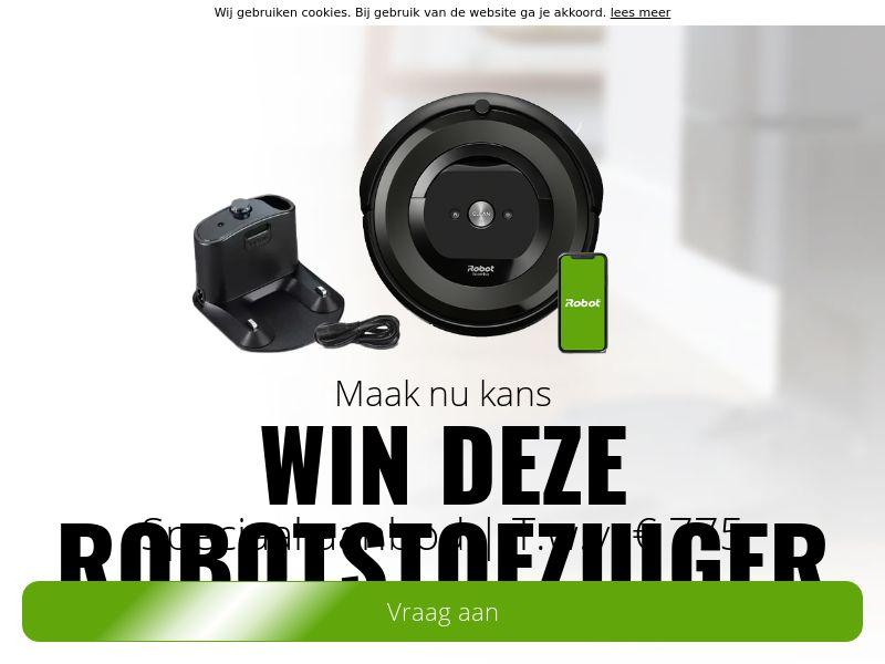 Win deze ROBOTSTOFZUIGER! - NL