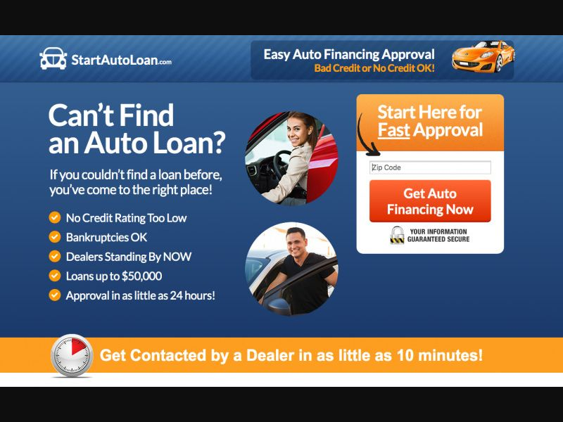 Start Auto Loan - SOI - CPL