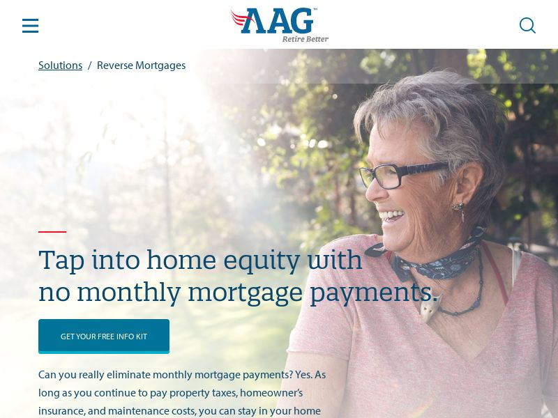 AAG Reverse Mortgage (US) (CPL) (Personal Approval)