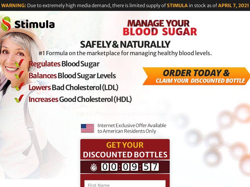 Stimula Blood Sugar - SS (US)