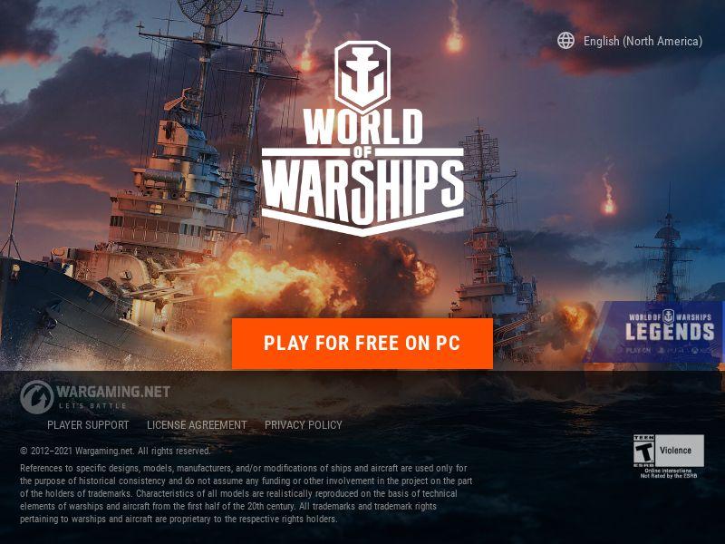 WorldofWarships.com CPL - WW