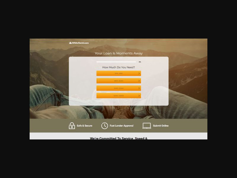 Whiterockloans.com - Personal Loans (US)