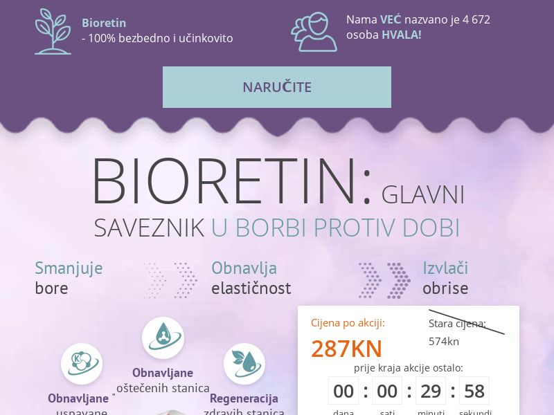 Bioretin HR - rejuvenating cream mask