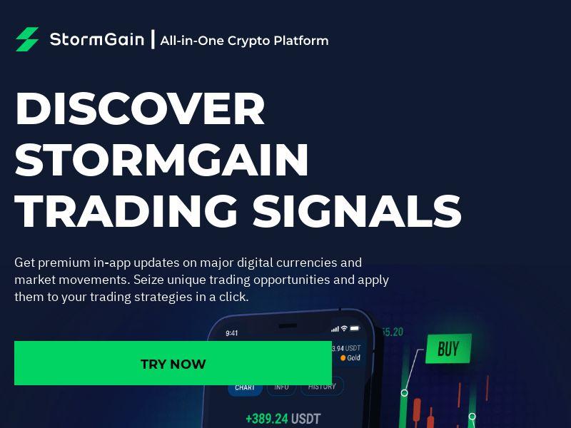 StormGain - Signals (EU) (CPS)