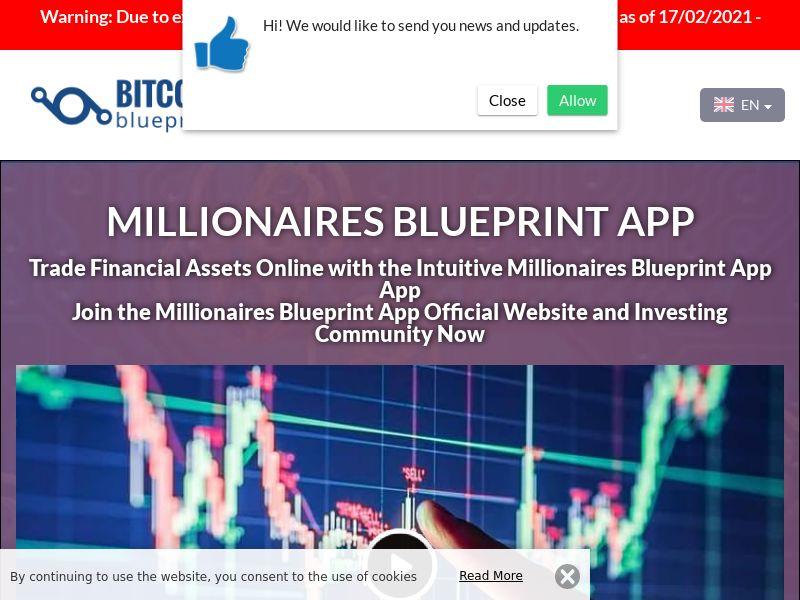 Millionaires Blueprint App English 3220