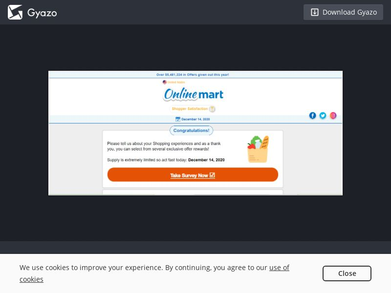 Walmart - TheVisitorSurvey (US) (Trial) (Personal Approval)