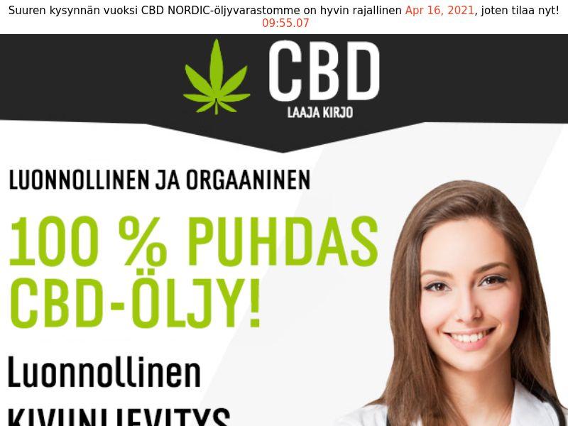 CBD Oil [FI] (Email,Social,Banner,Native,Push,SEO,Search) - CPA