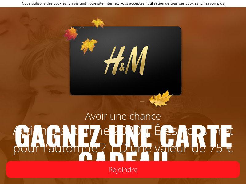 Carte Cadeau H&M! - BE