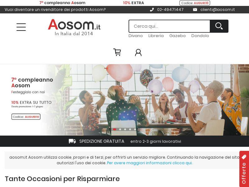 Aosom - IT (IT), [CPS]