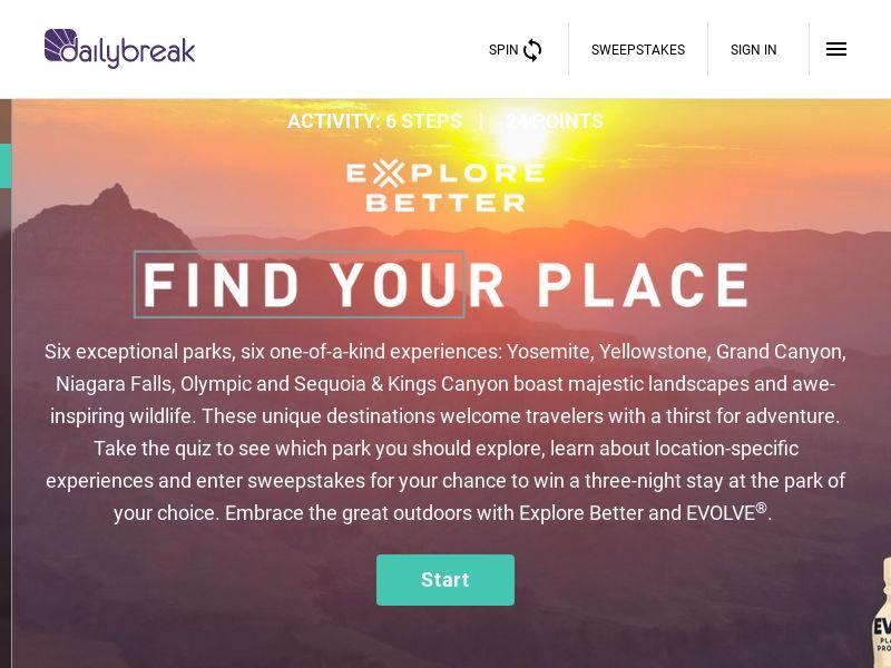 Dailybreak: Evolve/Explore Better National   US