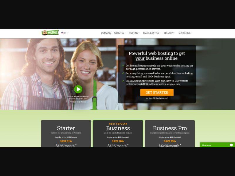 HostPapa - CC Submit - US - FR - Software - Responsive