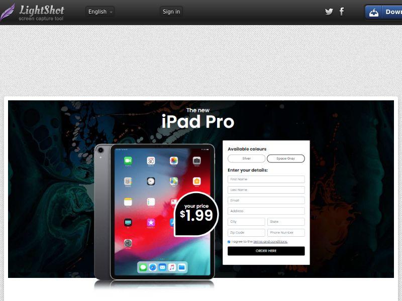Lucky Winner - iPad Pro - LP25 (US) (Trial)