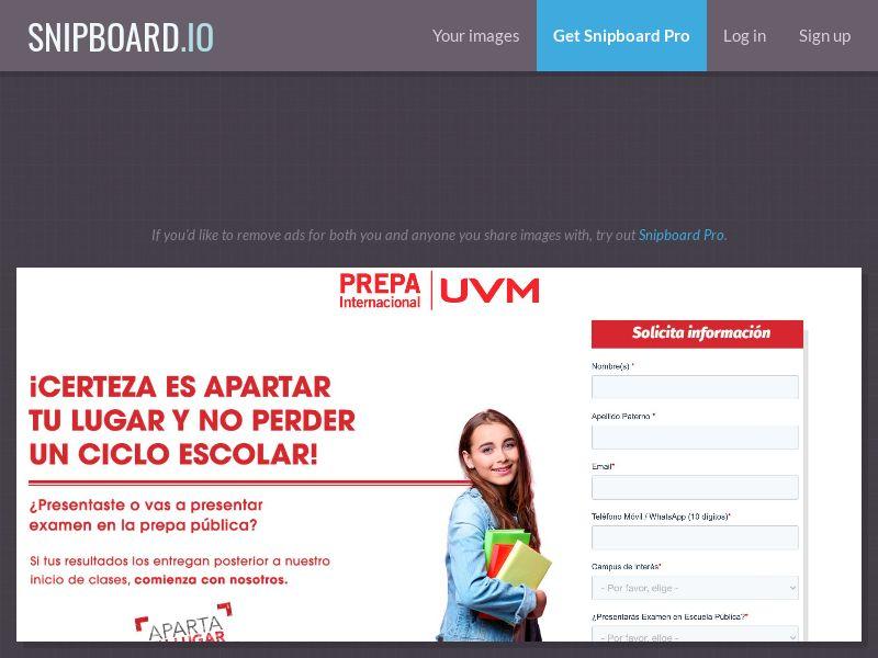 41878 - MX - Prepa UVM MX - CPL (cap 100)