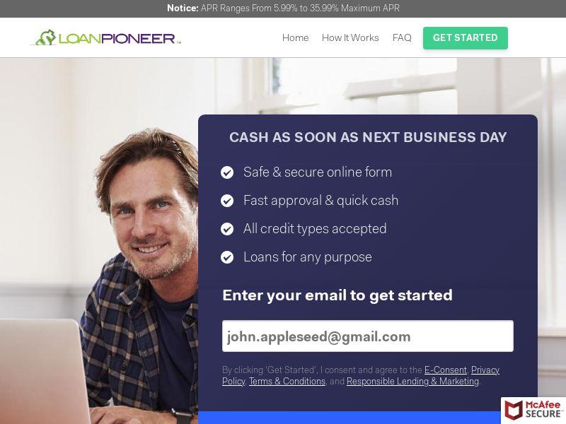 LoanPioneer.com - CPL - US