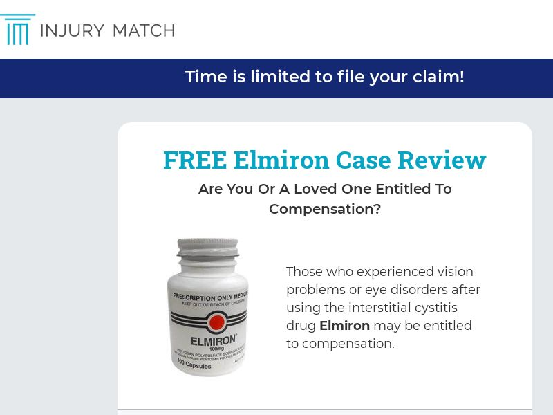 Elmiron - Eye Disorders [US] (Email Only) - CPL {Subid Approval}