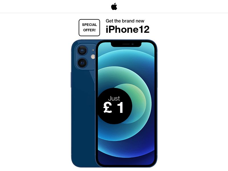 Get the brand new iPhone12 - CC Submit | UK