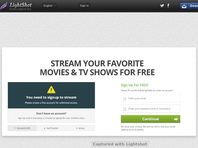 StreamMoviesOnline Default Page (Streaming) (CC Trial) - United States