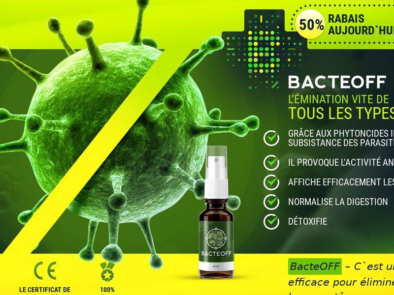 BacteOFF FR - anti-parasite product