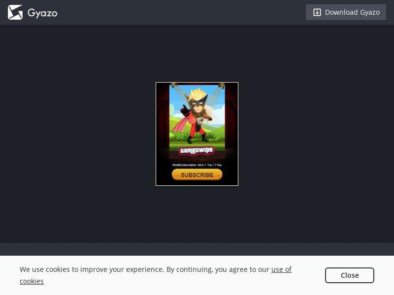 LK - Gameswipe - Dialog