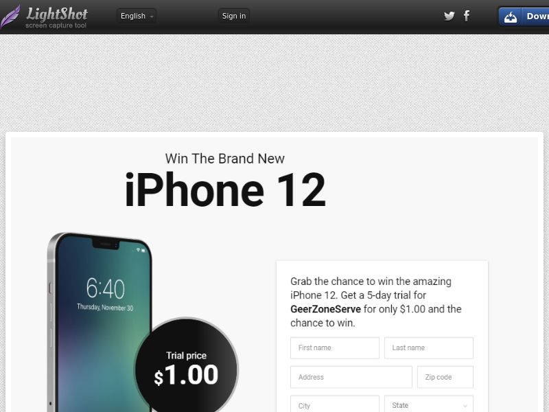 winlotsofthings iphone 12 (CC Trial) - United States