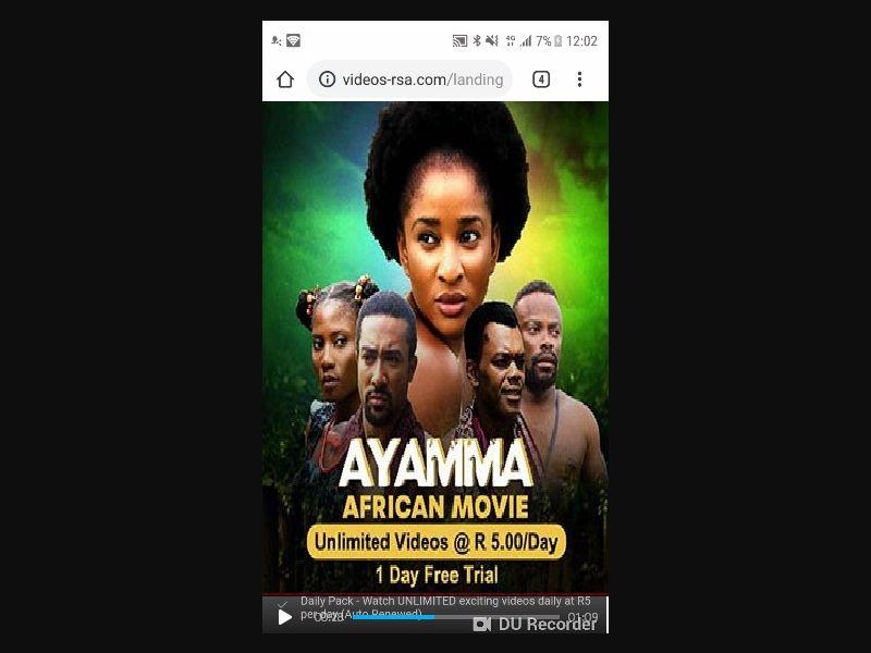Ayamma Video Store [ZA] - 2 click