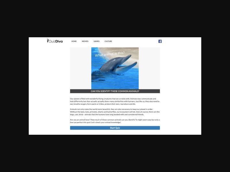 Quiz Diva - Animals Quiz (US) CPL Mobile