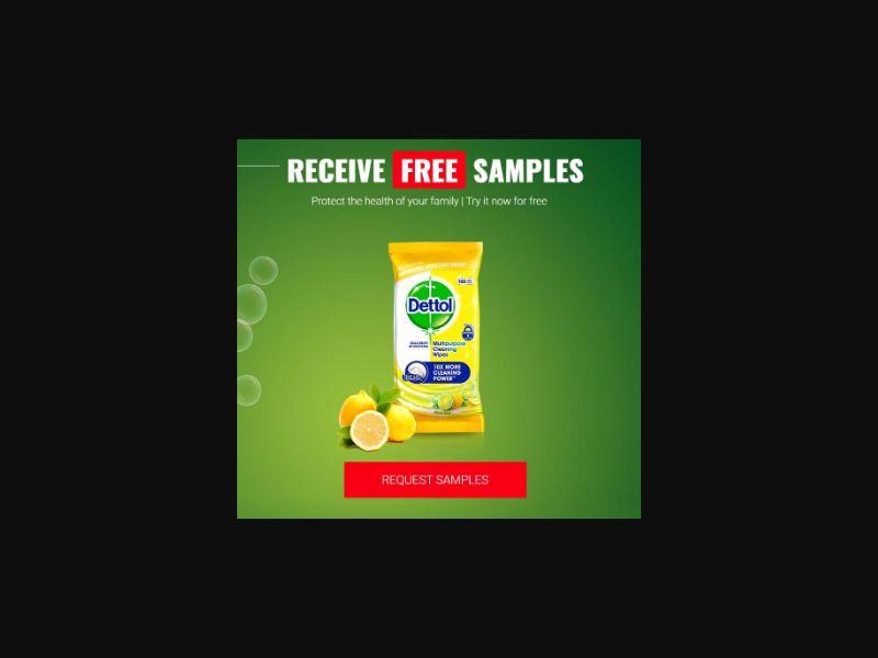 Dettol Sample Pack - UK