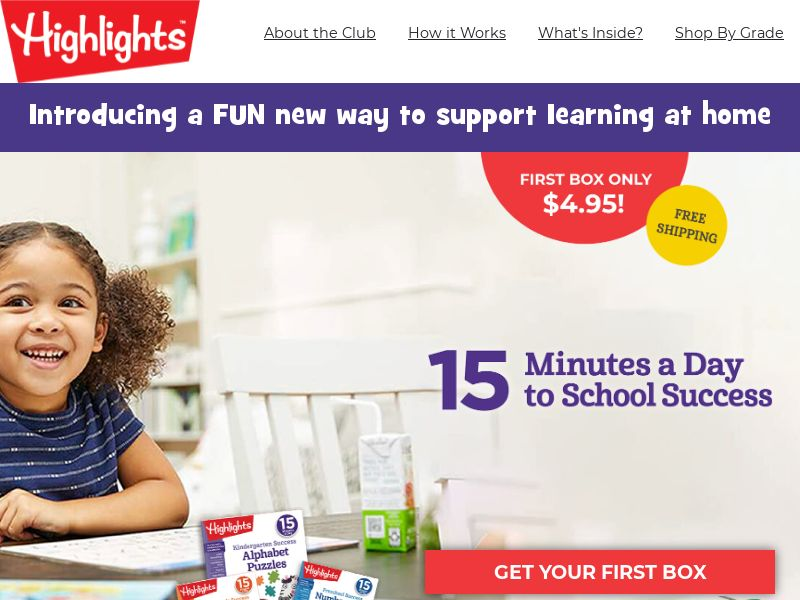 15 Minutes a Day to School Success