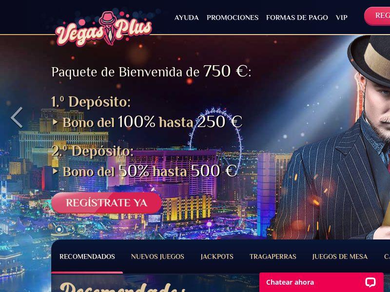 Vegasplus casino - CPA - ES [ES]