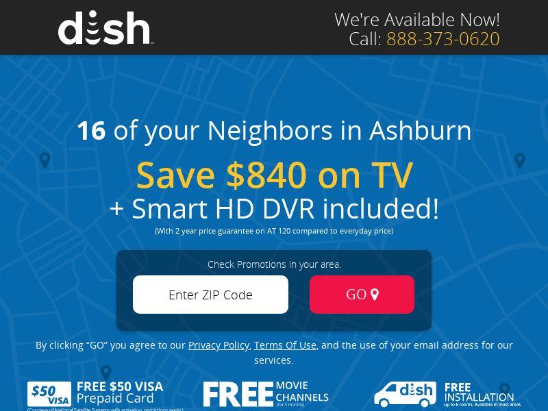 Dish - Save $840