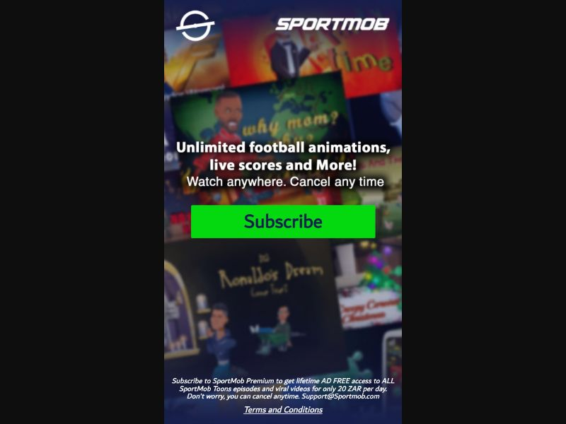 Sportmob - 2 Clicks - ZA-MTN - Sports - Mobile
