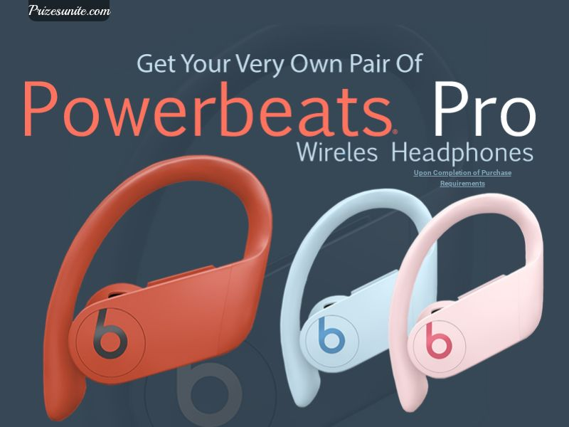 Email Submit Powerbeats Pro - US