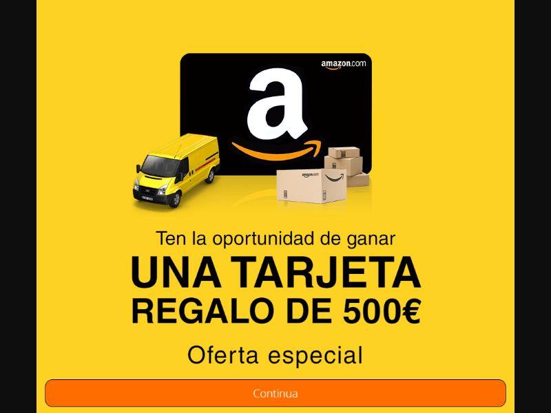 FR/IT/ES - Amazon Voucher [ES] - SOI registration