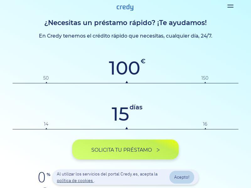 37609 - ES - Finance - Credy - SOI (total cap 100)