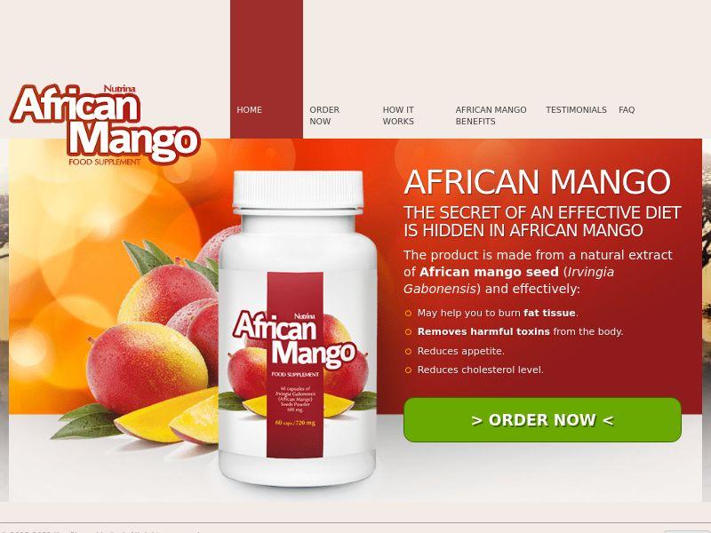 African Mango - SS - [DK]