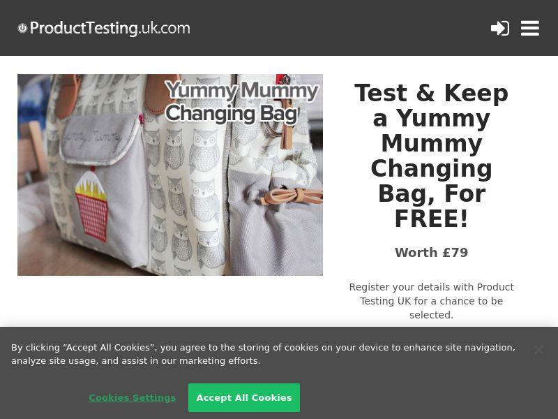Email Submit - Yummy Mummy Bag - SOI (UK)