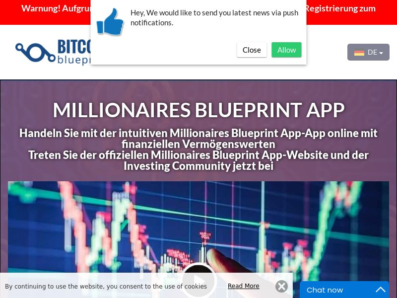 Millionaires Blueprint App German 3221