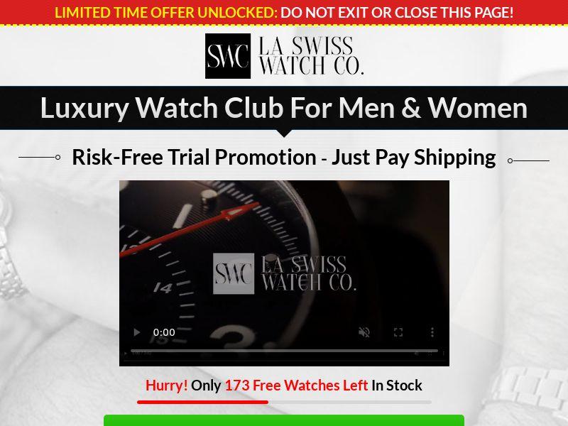La Swiss Watch Co (Trial) (US) (Survey Allowed)