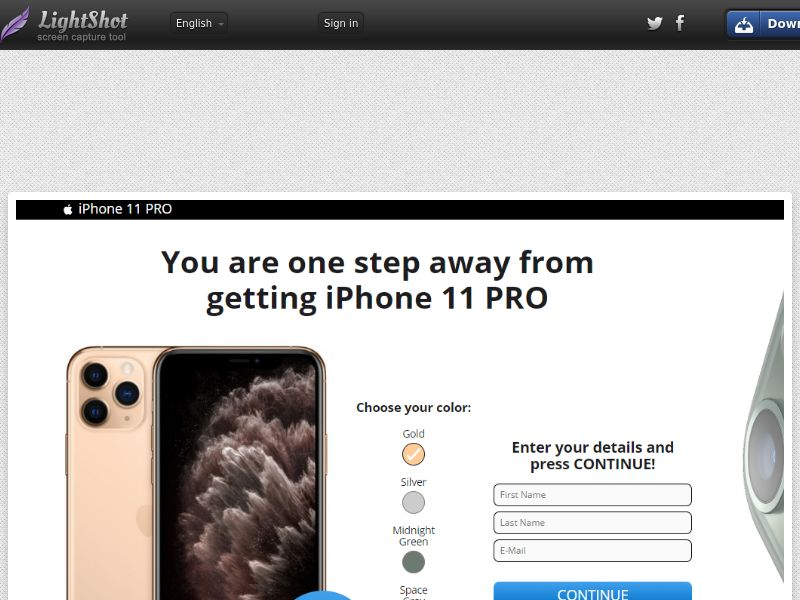 Plat Premium iPhone 11 Pro (Sweepstake) (CC Trial) - Italy