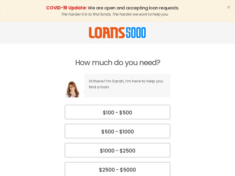 Loans5000 (US) (CPL) (Personal Approval)