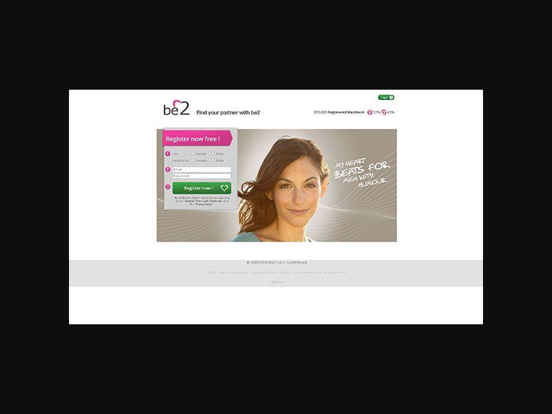 INTL Be2 - Dating 30+ (NZ) DOI