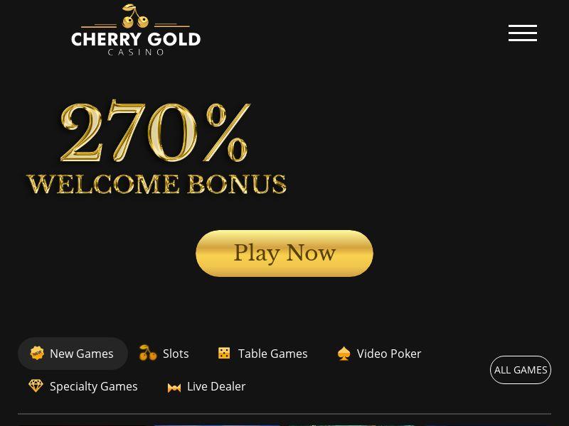 Cherry Gold casino CPA US, CA, AU, UK, BE, DK, FR, DE, AT, IE, IT, NL, ES, SE, FI, NO, CH