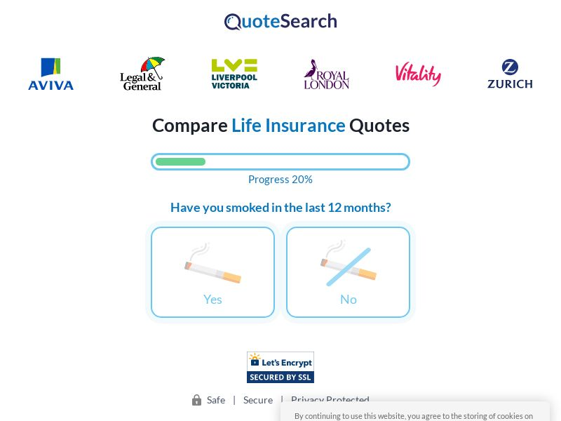 Uk - QuoteSearch - Private 29548 - NEW