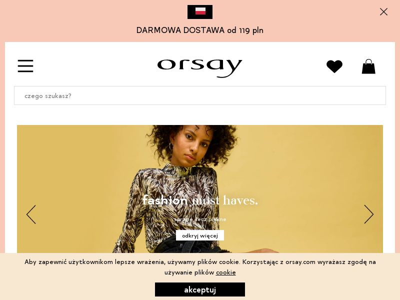 Orsay - PL (PL), [CPS], Fashion, Clothes, Shoes, Accessories and additions, Accessories, Jewelry, Sell, shop, gift
