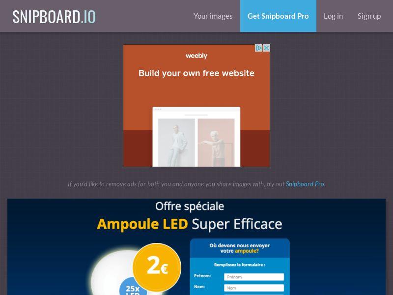 BigEntry - Ampoule LED Light FR - CC Submit