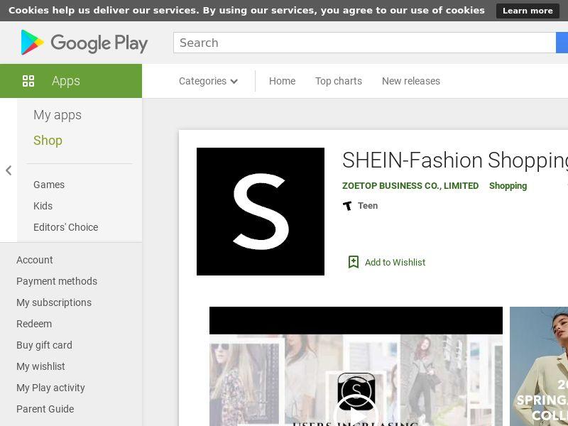 SHEIN-Fashion Shopping Online SA AND CPI