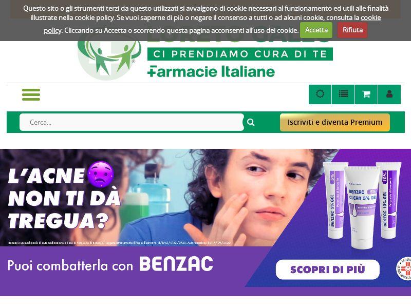 Farmacia Loreto Gallo - IT (IT), [CPS], Health and Beauty, Cosmetics, Supplements, Diets, Medicine, Sell, coronavirus, corona, virus, keto, diet, weight, fitness, face mask