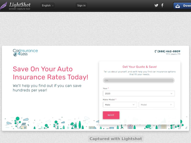 CarInsurance4Less (US) (CPL) (Personal Approval)