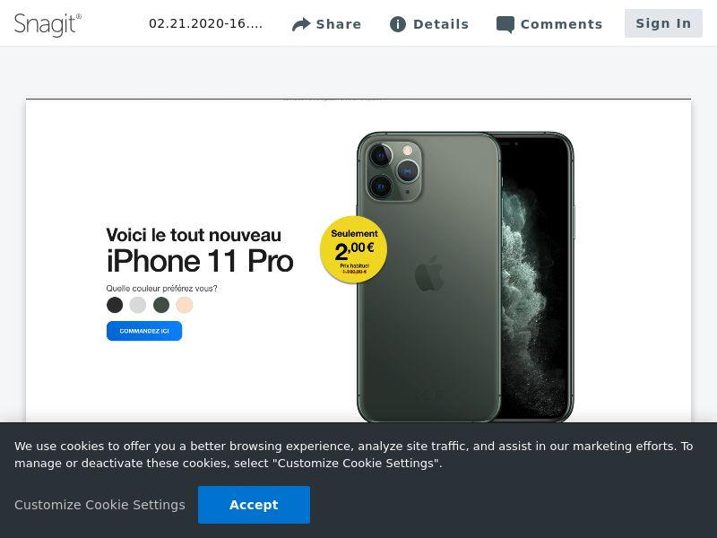 OV - iPhone 11 Pro | FR,BE